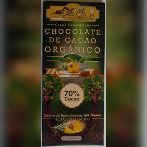 70% Cacao sabor a Piña